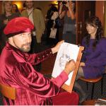 Шаржист, рисование шаржей